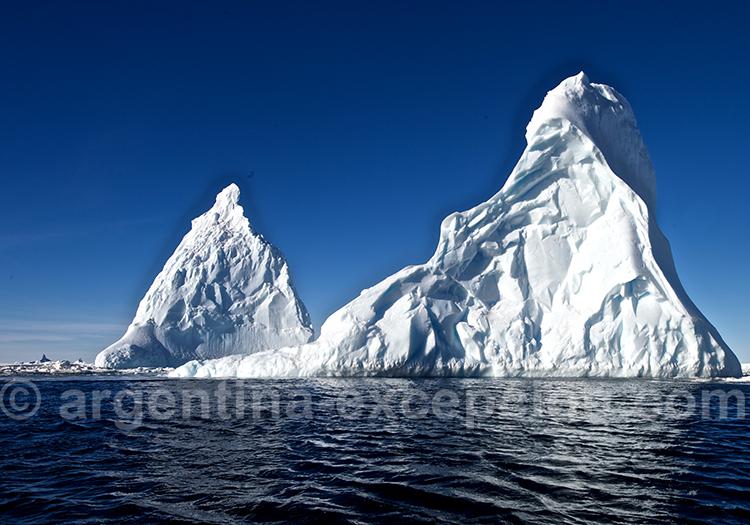 Icebergs en mer de Ross. © Michael Martin