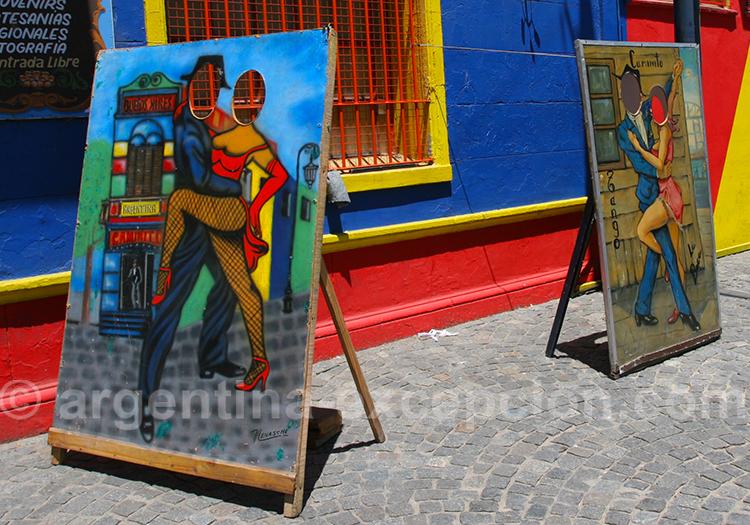 Initiation au tango à La Boca