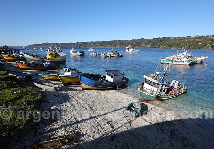 La Grande île de Chiloé en Patagonie