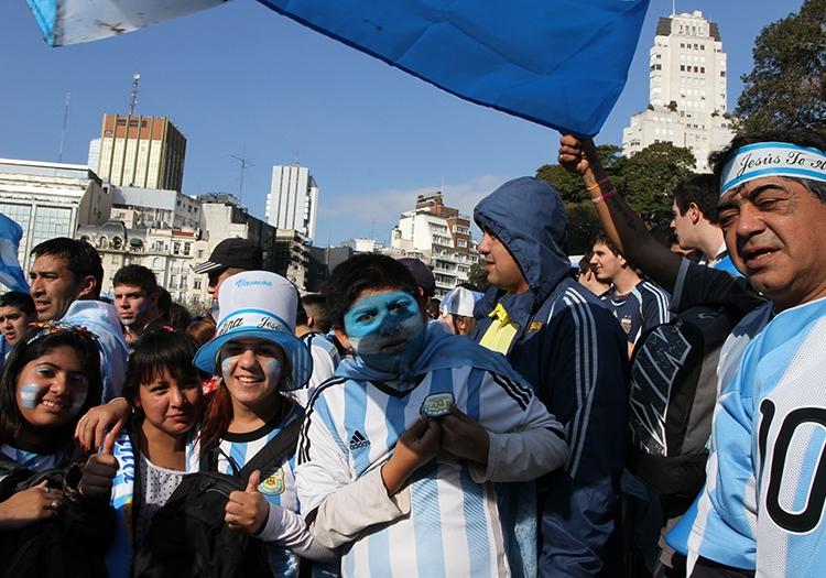 Le foot en Argentine