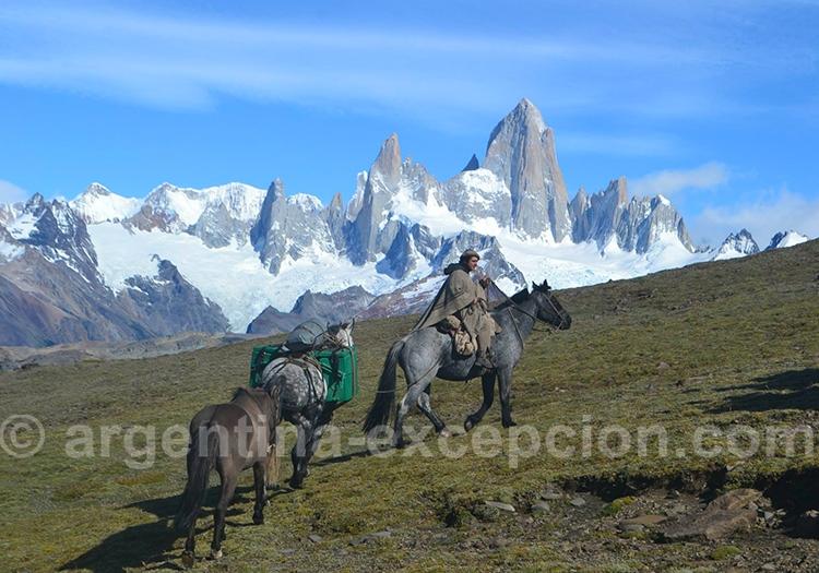 Le parc de Los Glaciares à cheval
