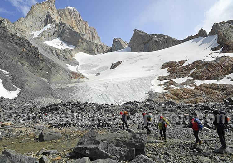Le trekking sur les glaciers de Patagonie