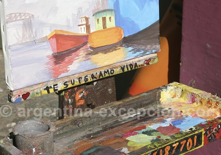 Les peintres de La Boca