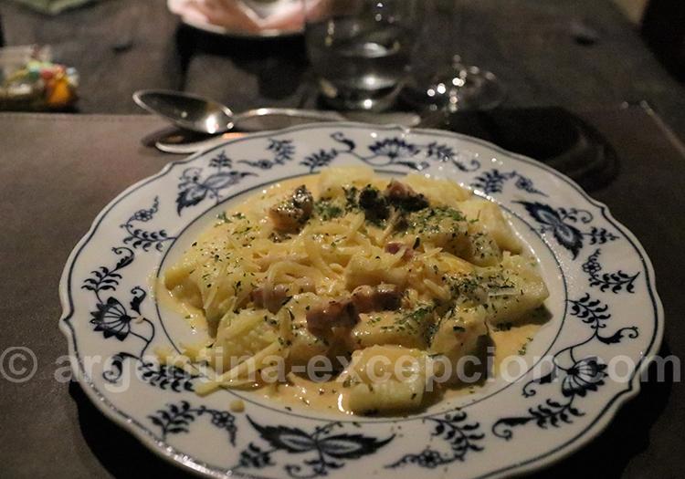 Les recettes issues de l'héritage italien