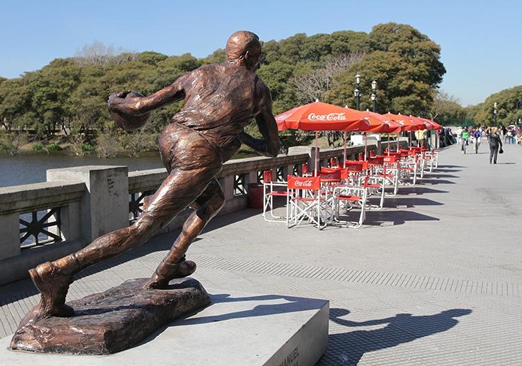 Les statues de Puerto Madero