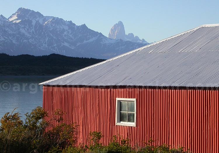 Maison patagonne typique