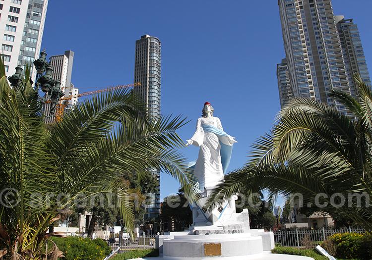 Monument aux gardes-côtes, Puerto Madero, Buenos Aires