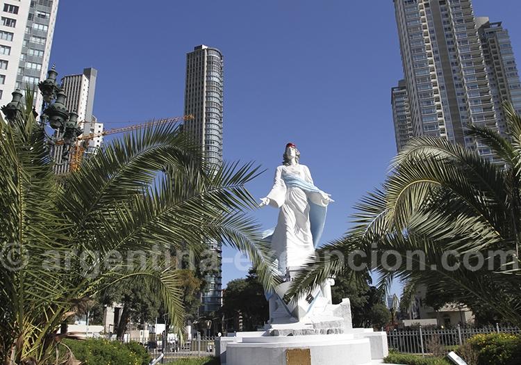 Monuments aux gardes-côtes, Puerto Madero, Buenos Aires