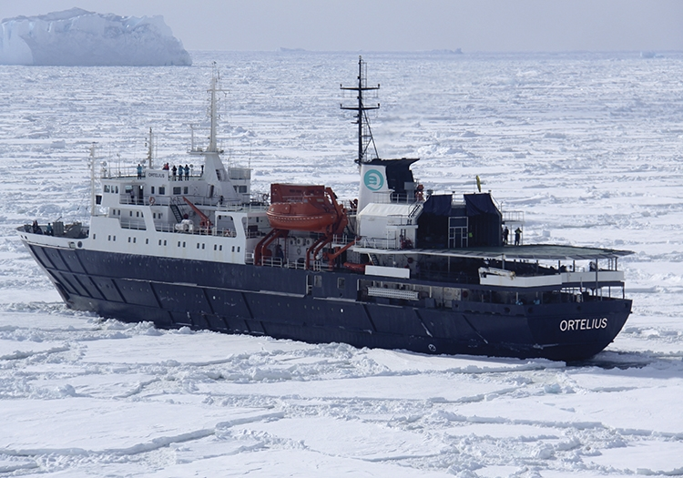 Ortelius, bateau de croisière pour l'Antarctique