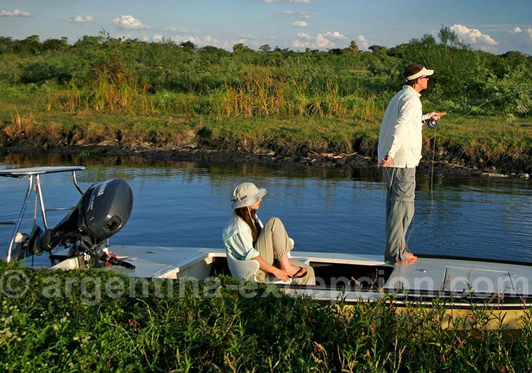 Pêche à Corrientes, Pira lodge