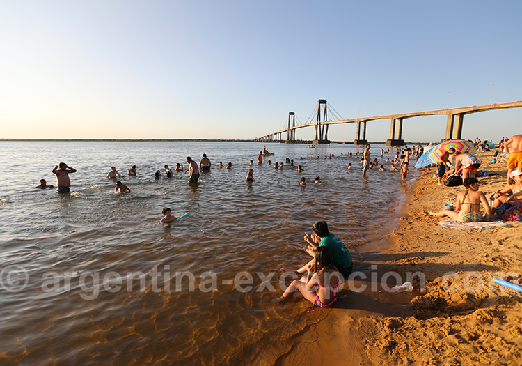 Plage Arazatí, Corrientes