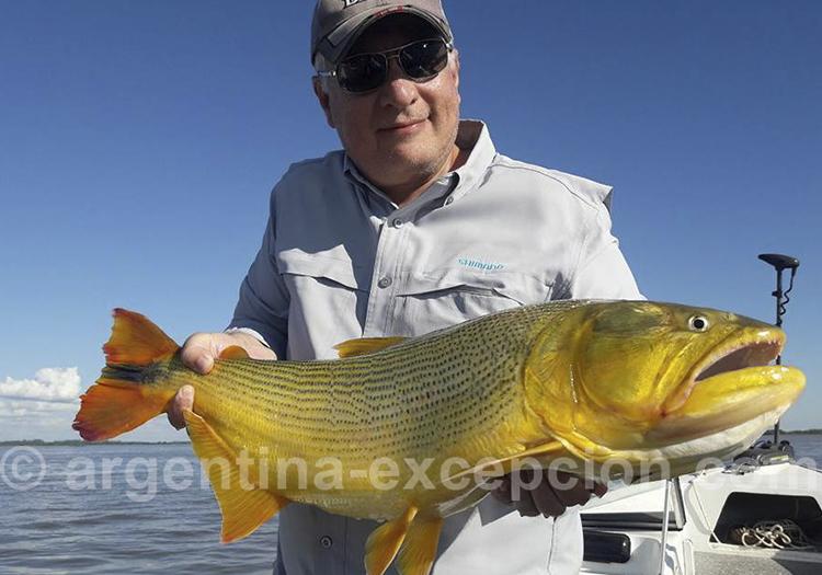 Pêche au dorado à la posada Hambare