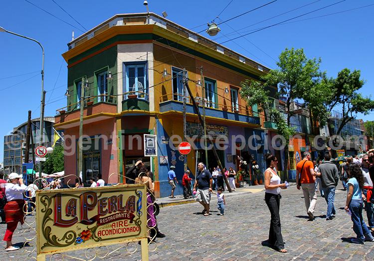 Quartier de La Boca- Buenos Aires