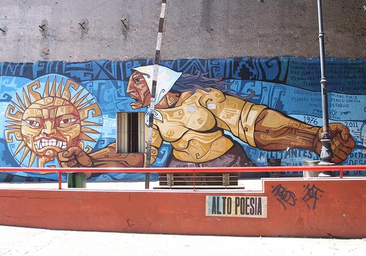 Quartier de La Boca street art