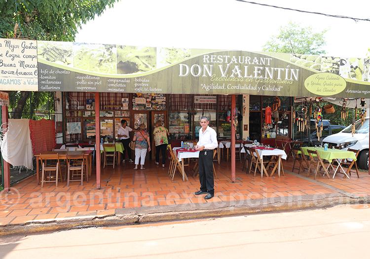 Restaurant Don Valentin, San Ignacio, Misiones