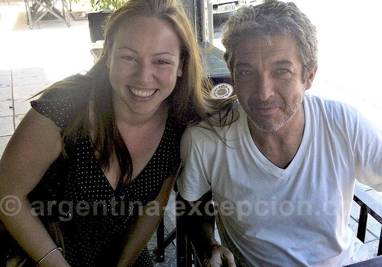 Ricardo Darín et Fanny, une admiratrice