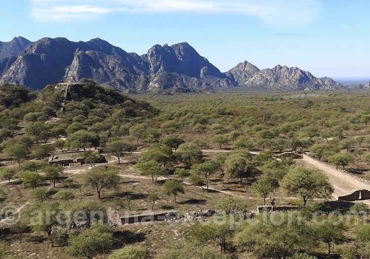Ruines du Shincal de Quimivil