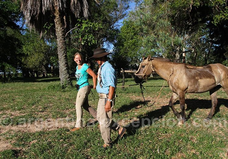 Safari animalier à cheval dans les Esteros del Ibera