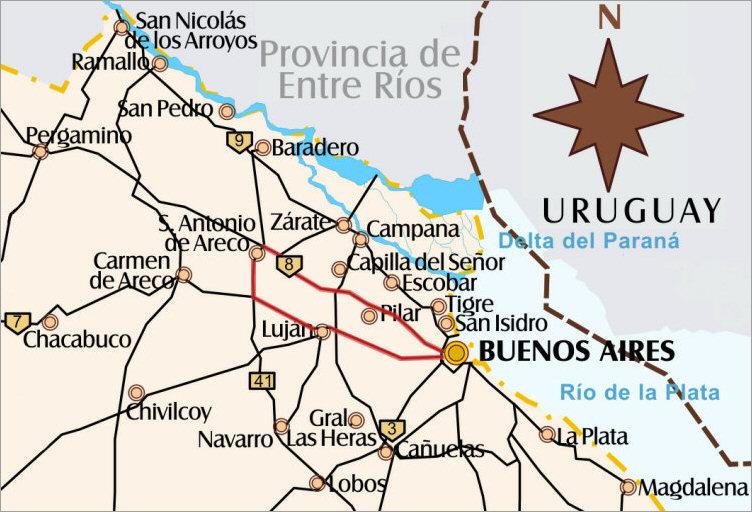 San Antonio Carte