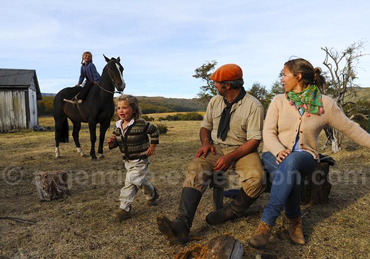 Séjour estancia et gauchos, en famille