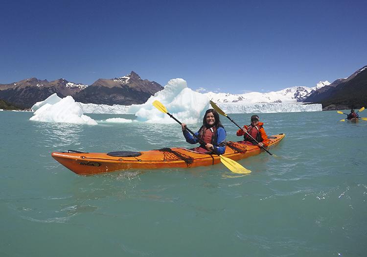 Glacier Perito Moreno en Kayak