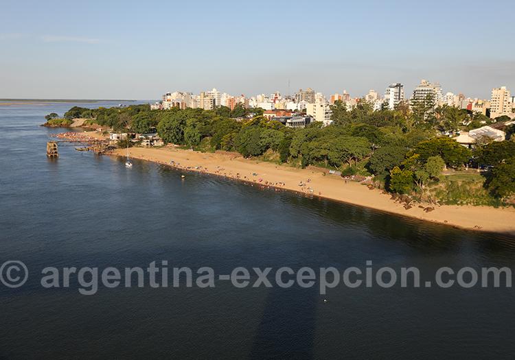 Situation géographique de Corrientes