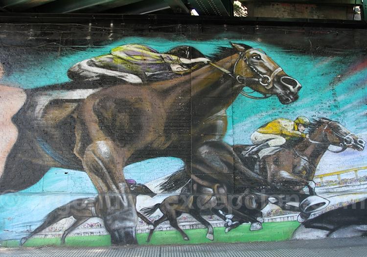 Hypodrome de Palermo, Street Art