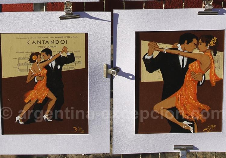 Tango et peinture du Caminito