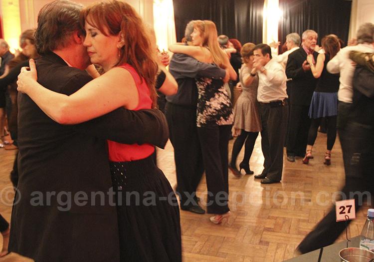 Tango dans le salon canning