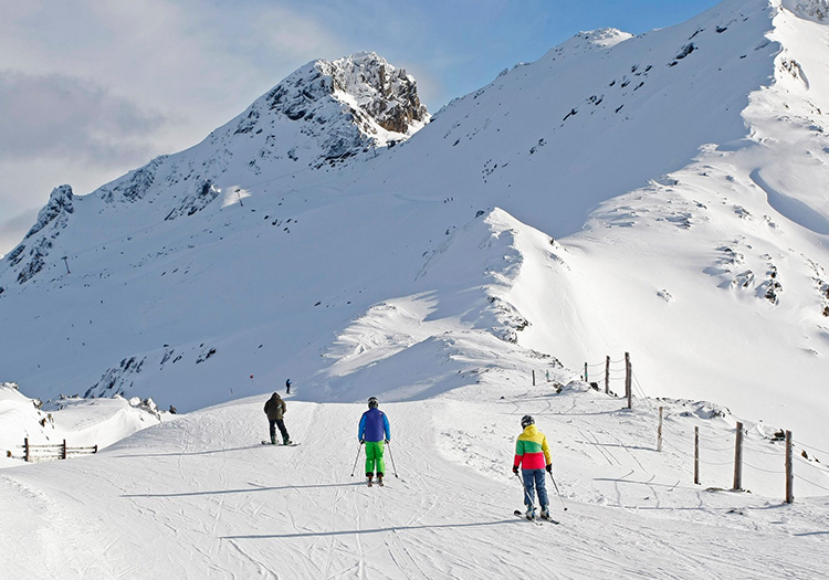 Ushuaia en hiver. Credit station de Cerro Castor