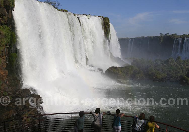 Visite des chutes d'Iguazu coté Bresilien