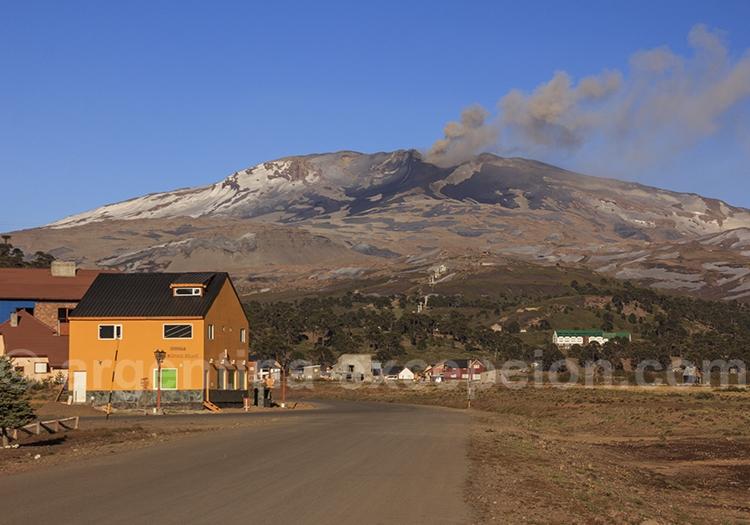 Volcan de Copahue, route 40