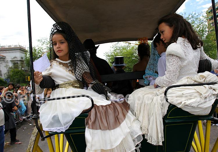 costumes traditionnels vendimia