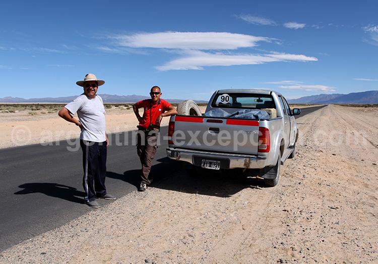 Sur la 40 entre Amaicha del Valle et Villa Union