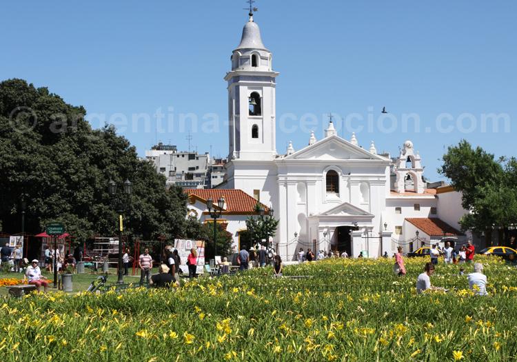 Basilique Notre Dame de Pilar, Recoleta