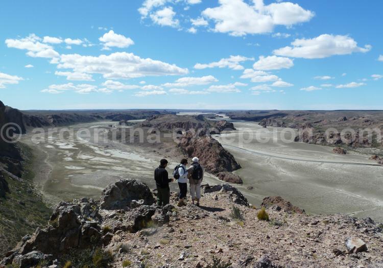 Mirador de Darwin, Ría Deseado, Puerto Deseado, Patagonie