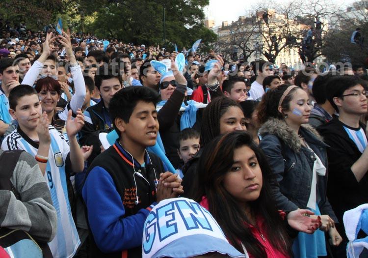 Le football, une religion en Argentine