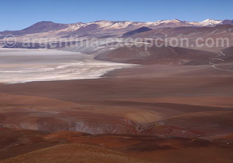 Salar de Rio Grande, province de Salta