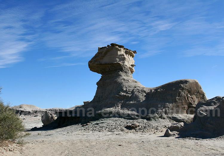 Le Sphinx de la vallée de La Lune, San Juan