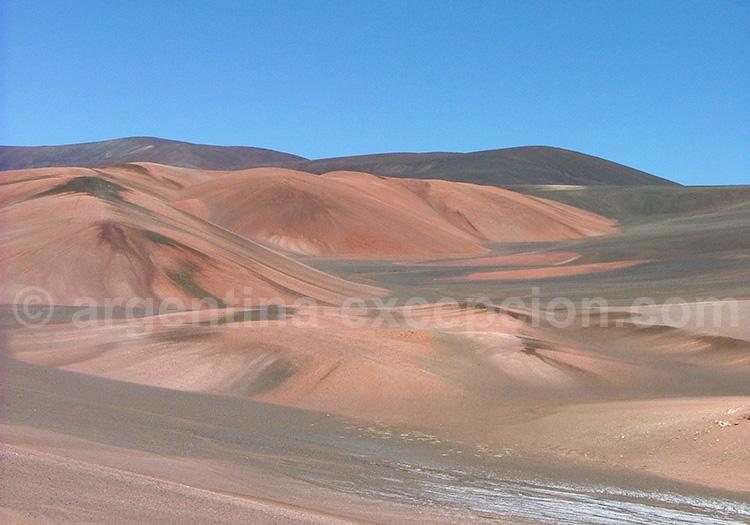 Dunes colorées de la Laguna Brava