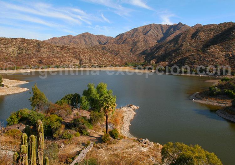 Retenue d'eau de San Juan de Valle Fertil