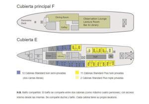 Plan bateau MV ushuaia