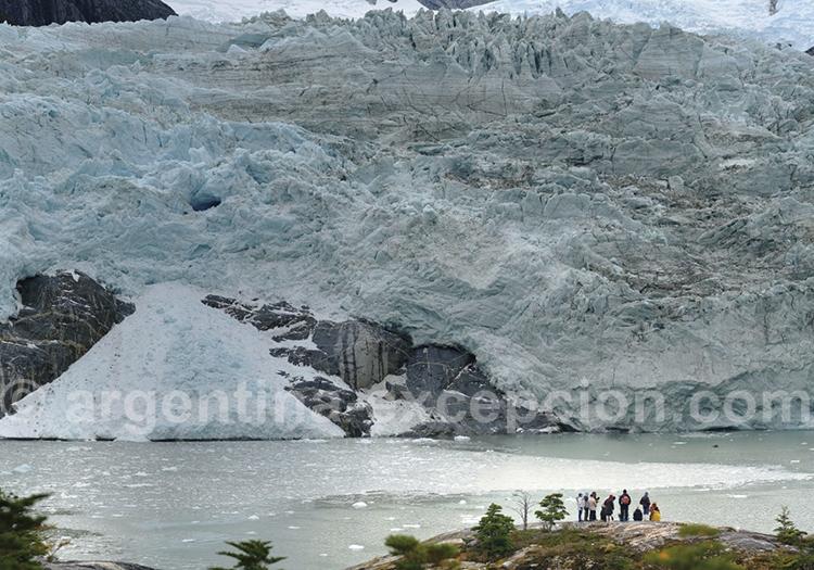 Débarquement et excursion au glacier Pia