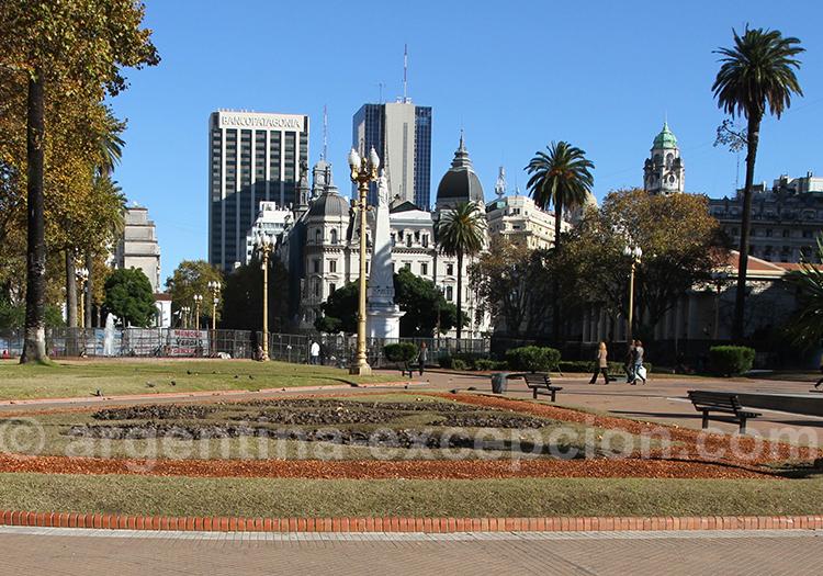 Place de mai, Microcentro, Buenos Aires