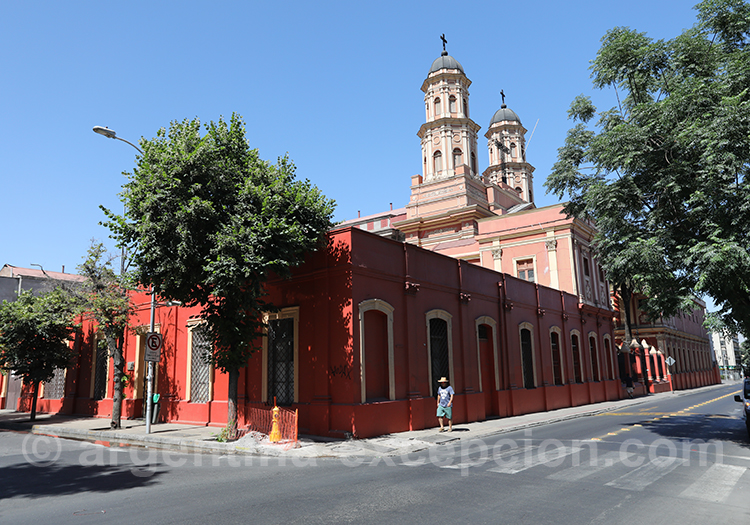 Visite de Santiago du Chili, quartier Brasil