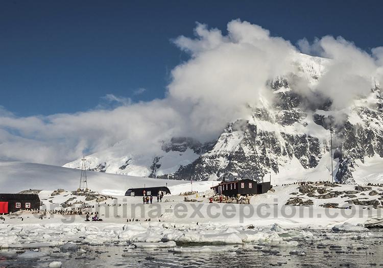 Le climat en Antarctique. Safari photos dans les iles Fakland @ Dietmar Denger