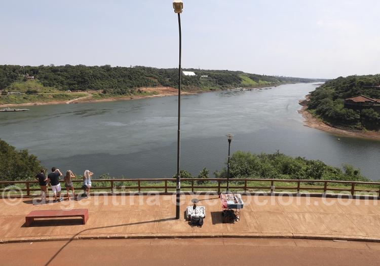 Puerto Iguazu, point de vue sur les Trois Frontières