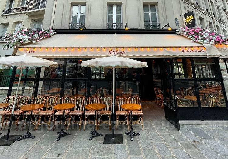 Restaurant Le Malena, Paris 5