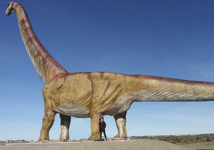 Sauropode sur la Route National de Trelew