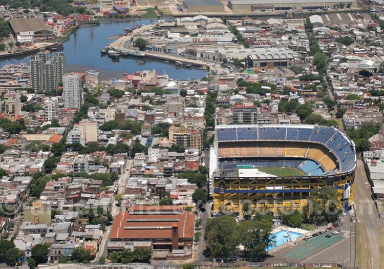 Stade La Bombonera, la Boca